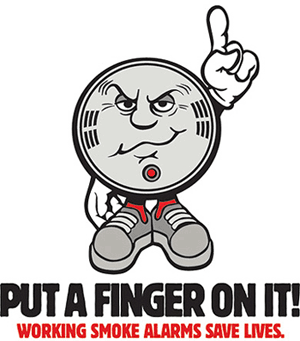 Put a Finger on It! Working Smoke Alarms Save Lives