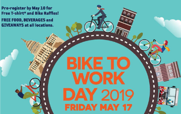 Image of 2019 Bike to Work Day Logo