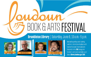 Promotion for Loudoun Book and Arts Festival