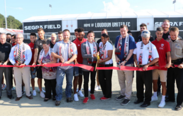 Loudoun United Ribbon Cutting-News Flash