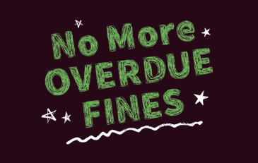 "Image of blackboard with message of ""No More Fines"""