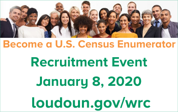 Image of Census Recruitment Event graphic