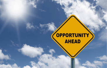 Image of Opportunity Ahead Sign