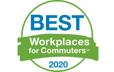 Image of 2020 Best Workplaces for Commuters Logo