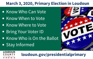 Image of six things to know about the March 3, 2020, primary election