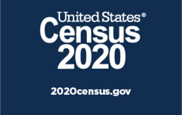 Image of the 2020 census logo