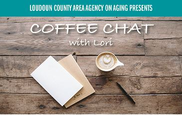Image of flyer for AAA virtual coffee chat