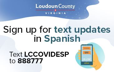 Image of Spanish COVID-19 Text Message Service Announcement