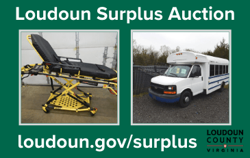 Image of items in the Loudoun County surplus auction