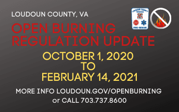 open burning fall and winter NF 2020