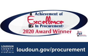 Image of Achievement of Excellence in Procurement award
