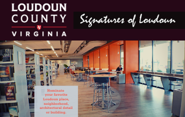 Link to information about the Signatures of Loudoun Design Awards