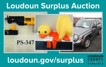Link to information about Loudoun County surplus auctions