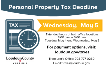 Link to information about taxes in Loudoun County