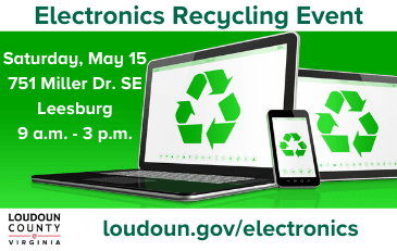 Link to information about electronics recycling
