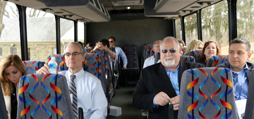 Board of Supervisors Bus Tour of Western Loudoun