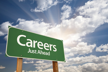Image of Careers Just Ahead Sign