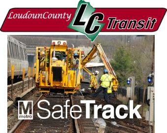 Image of LC Transit and SafeTrack logos