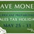 hurricane preparedness sales tax holiday logo