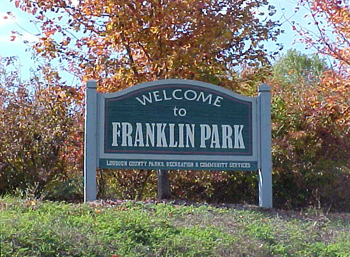 Franklin Park Sign