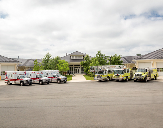 Photo of Purcellville Public Safety Center