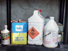Household Hazardous Waste products