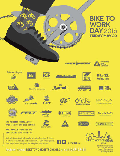 Link to Bike to Work Day poster