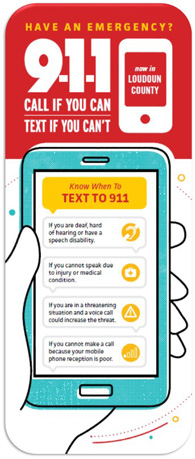 Link to Text to 911 Bookmark