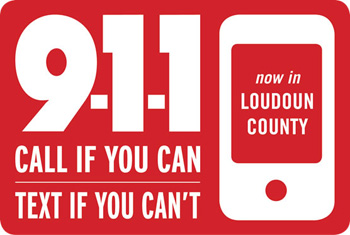 Image of Text to 911 logo